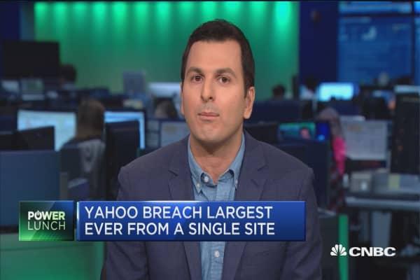 Yahoo confirms data breach