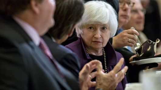 Fed's Yellen: Big U.S. bank conditions have improved 'considerably' since crisis