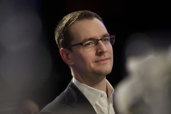 Robby Mook, campaign manager for 2016 presidential candidate Hillary Clinton