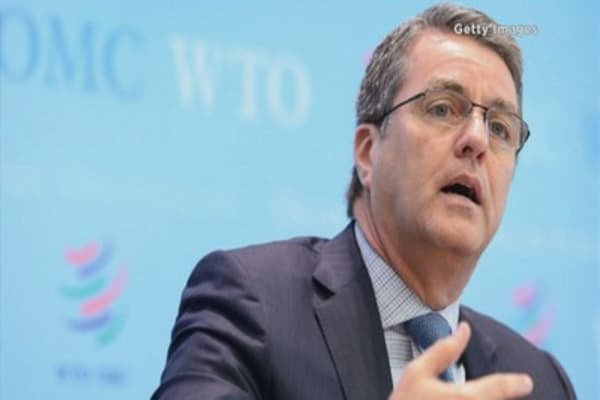 WTO slashes 2016 global trade growth outlook