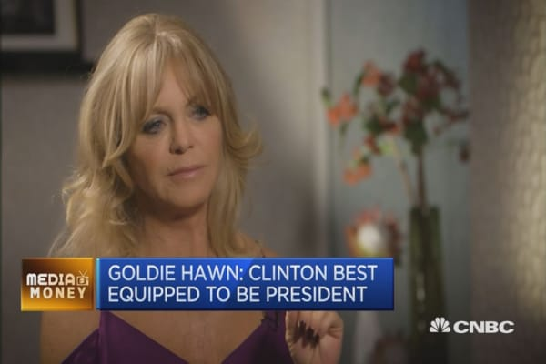 Goldie Hawn's prediction for next US president