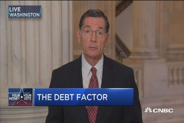 The debt factor: Sen. Barrasso