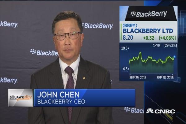 BlackBerry CEO on hardware