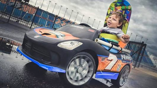 Go Baby Go modifies toys for children with disabilities. The toys, often incorporated into physical rehabilitation, can serve a population of 330,000 kids with relevant disabilities.