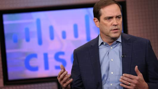 Cisco earnings: 57 cents vs expected EPS of 56 cents