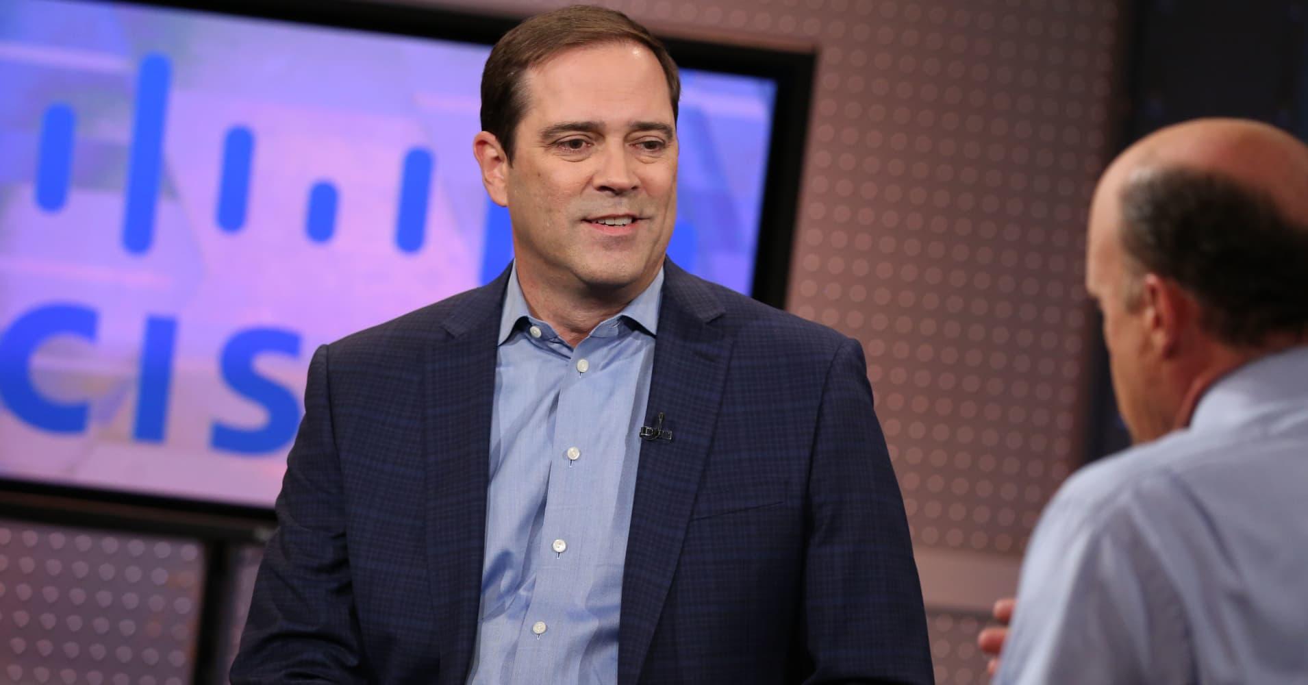 Trump Tax Reform Good for Business, Cisco CEO Chuck Robbins Says
