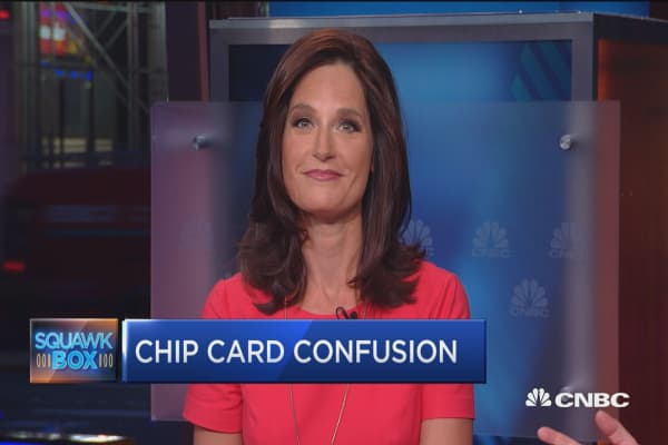 Chip cards finally catching on