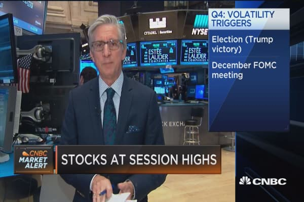 Stocks close Q3 with rally