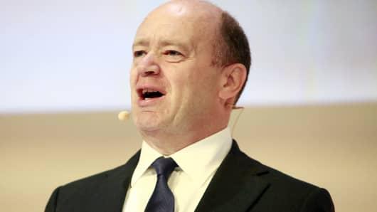 Deutsche Bank, John Cryan, chief executive officer