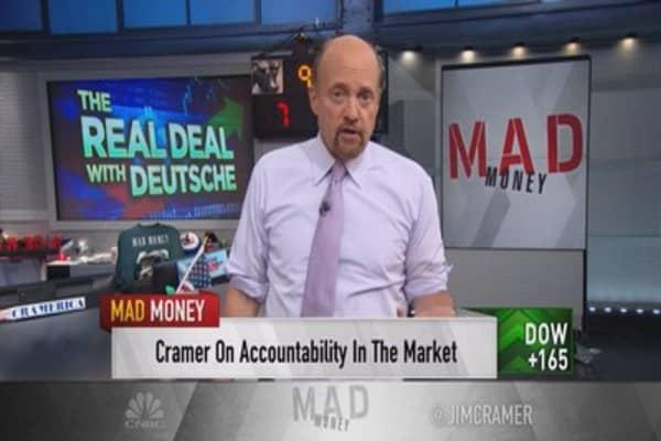 Cramer: Deutsche Bank was never in much danger