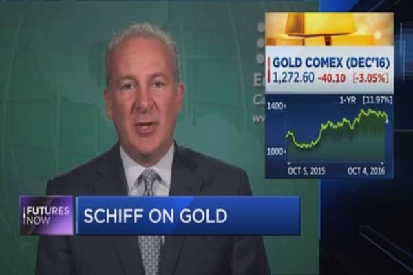 Schiff on why he would still buy gold