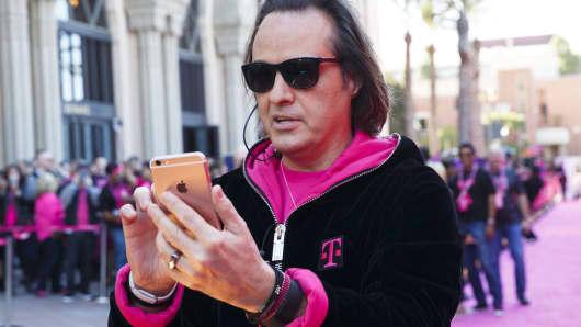 John Legere, T-Mobile US.