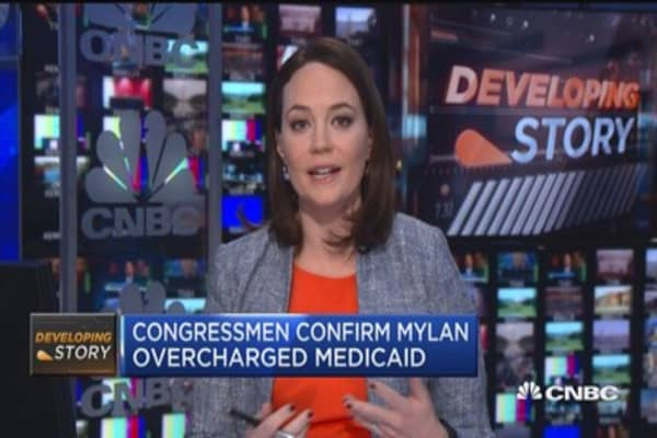 Congressmen confirm Mylan overcharged Medicaid