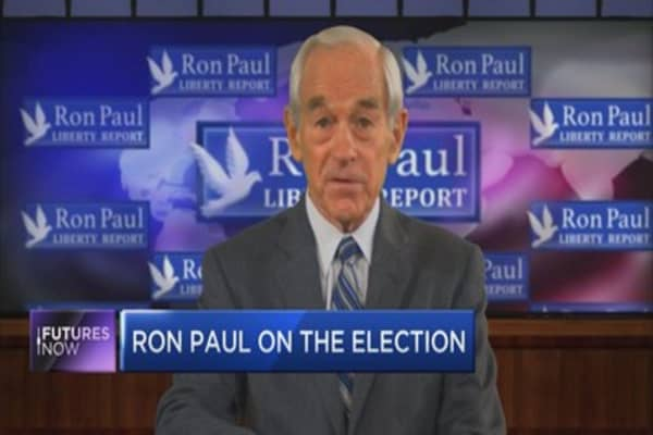 "Ron Paul: ""There's going to be a lot more uncertainty"""