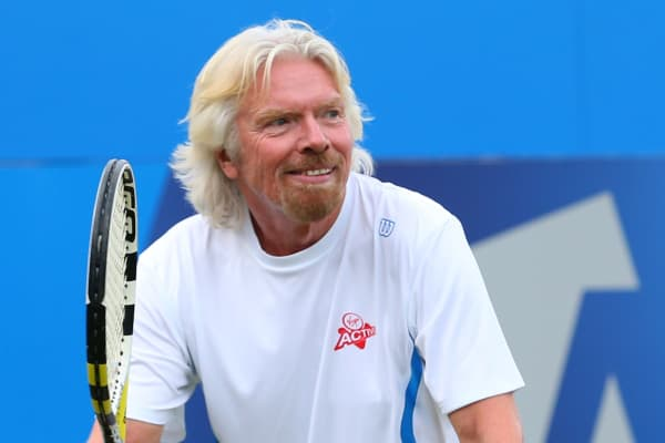 Sir Richard Branson, founder of Virgin Group