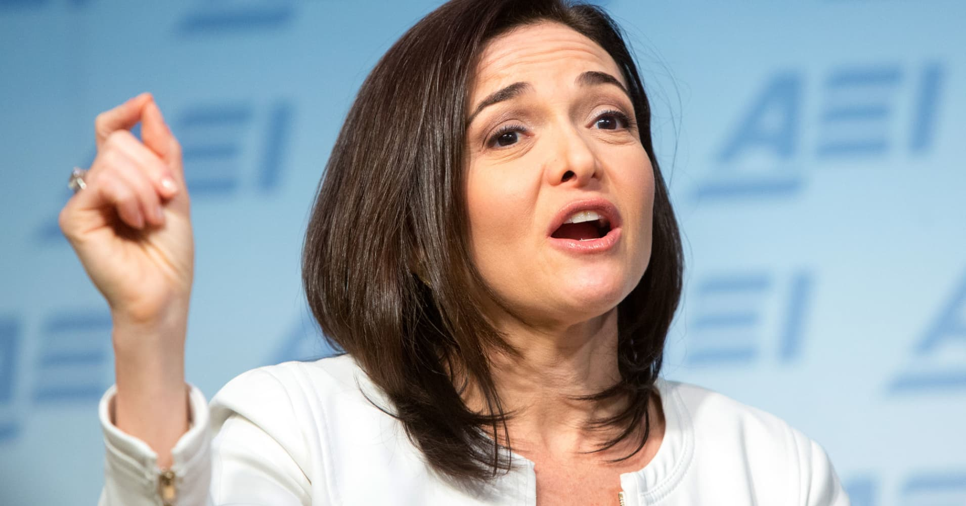 Sheryl Sandberg tells Virginia Tech: Anyone can be resilient
