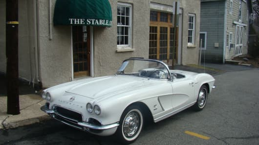 "1962 ""fuelie"" Corvette"