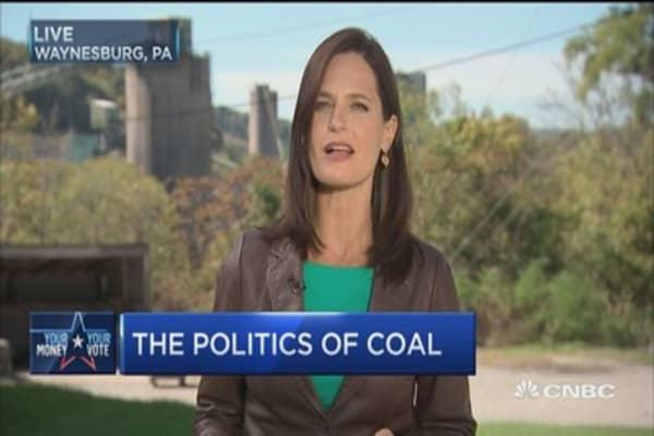The politics of coal