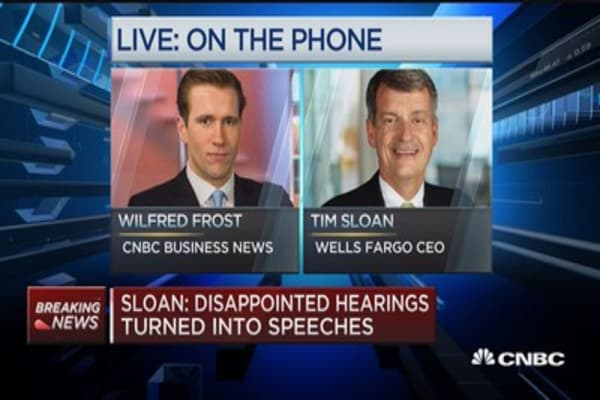 Sloan: Disappointed hearings turned into speeches