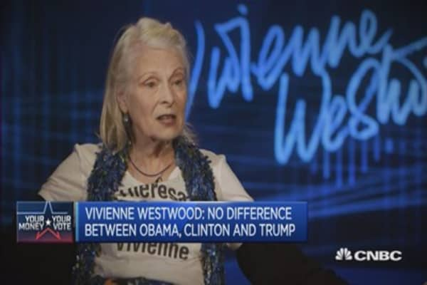 Why I wouldn't vote for 'evil' Hillary Clinton: Vivienne Westwood
