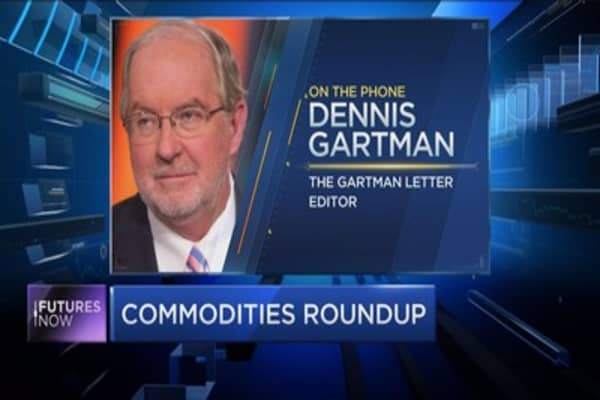 Which commodity to watch? Gartman weighs in
