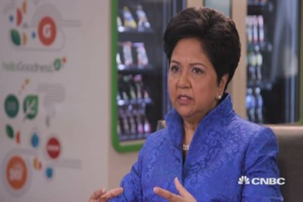 Pepsi's Nooyi: Cannot grow without healthy products