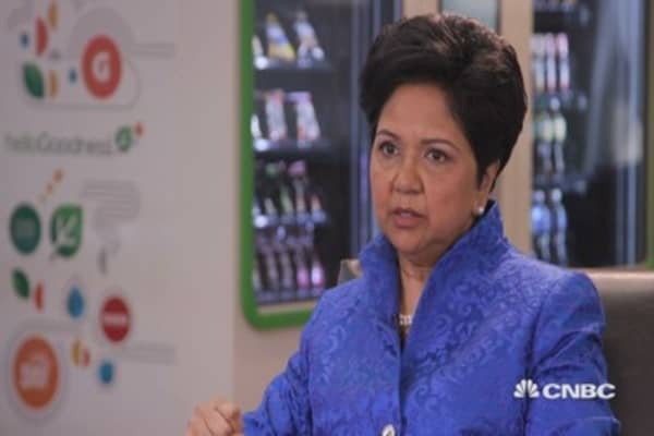 PepsiCo's Nooyi: On being socially conscious