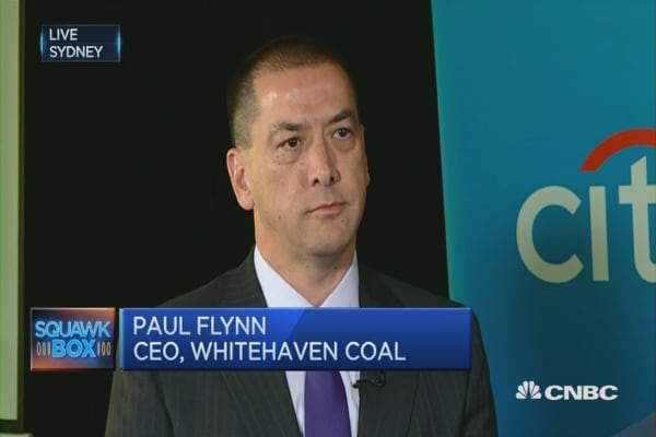 Coal prices will be good for 'some time to come': Miner