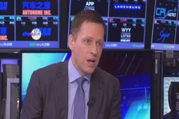 Peter Thiel facing heat in Silicon Valley over Trump donation