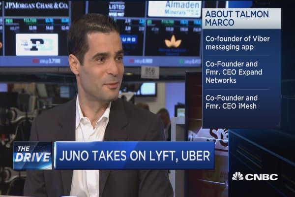 Juno takes on Lyft, Uber