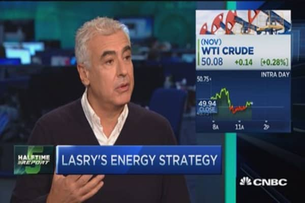 Lasry: Energy is still a phenomenal opportunity