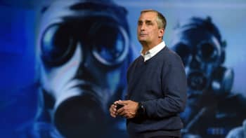Intel Corp. CEO Brian Krzanich delivers a keynote address at CES 2016 at The Venetian Las Vegas on January 5, 2015 in Las Vegas, Nevada.