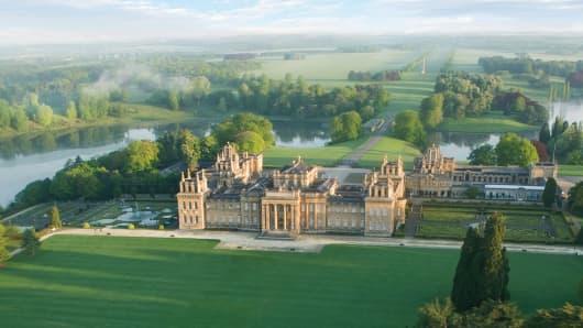 A week at three English Estates experience