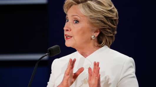 Clinton falsely claims her plans won't increase national debt