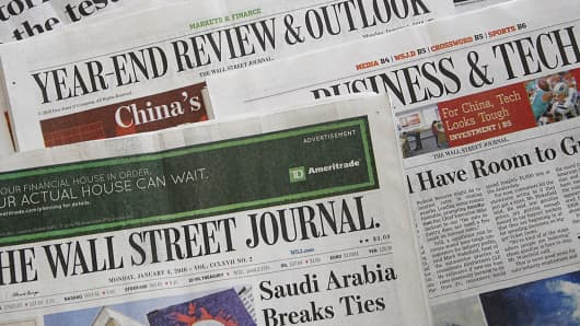 Wall street journal binary options