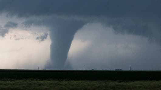 Breaking News Tornado