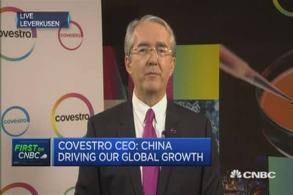 Europe is the slowest region at present: Covestro CEO