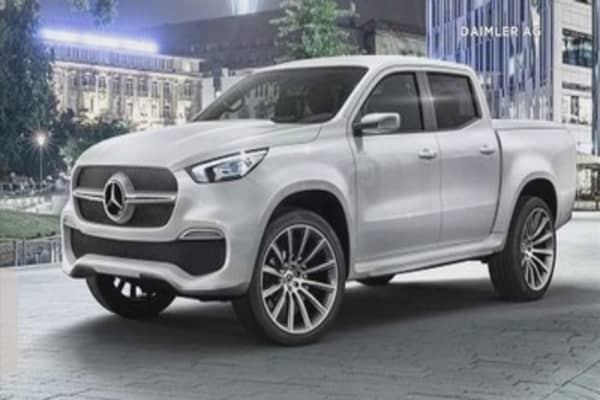 Mercedes benz to launch pickup truck in 2017 for Mercedes benz truck 2017
