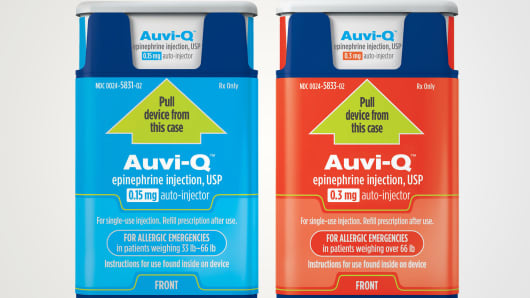Auvi-Q(tm) (epinephrine injection, USP).