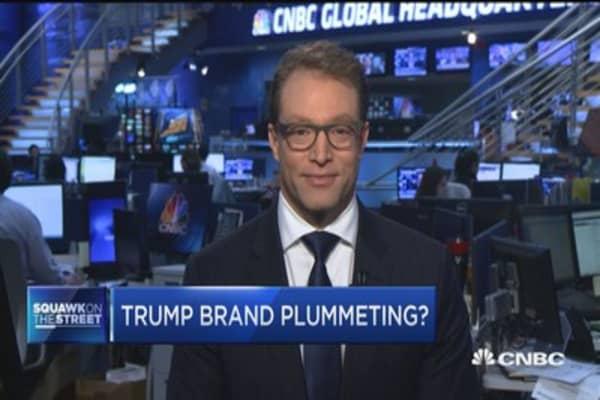 Trump brand in decline