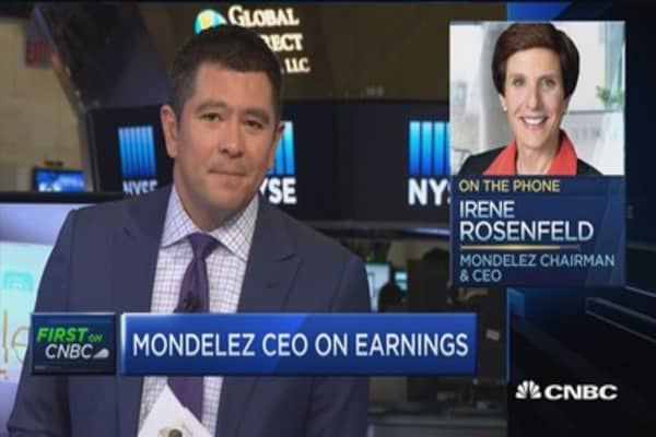 Mondelez CEO: Pleased with results in 'challenging environment'