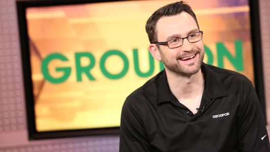 Rich Williams, CEO of Groupon
