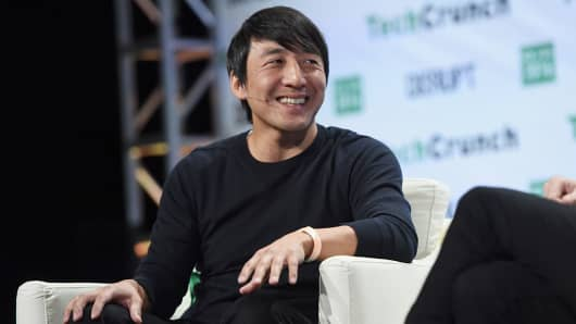 Alex Chung, CEO of Giphy