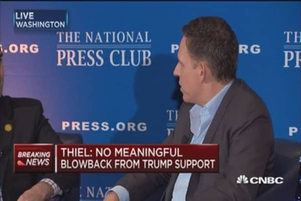 Peter Thiel on Silicon Valley