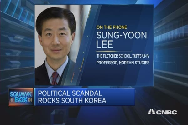 'Biggest political crisis' in South Korea: Academic