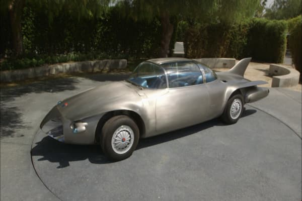 Tesla wasn't first to the autonomous car. General Motor's 1956 Firebird II was