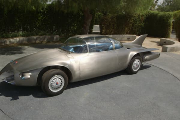 The 1956 GM Firebird II was the only car ever built with a titanium body. It was also built to drive autonomously on an electronic highway.