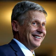 U.S. Libertarian presidential candidate Gary Johnson