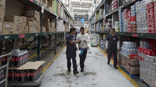 Wal-Mart fulfillment center