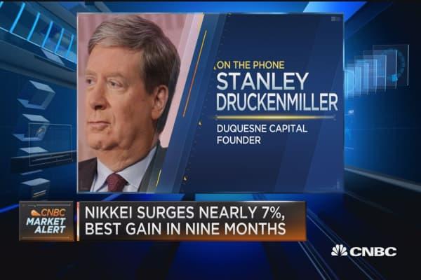 Druckenmiller: Not going to 'sugarcoat' trade